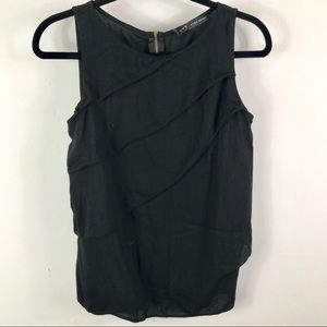‼️4/$25‼️ Zara Basic black tank top